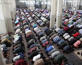 Grande moschea Roma Id al adha