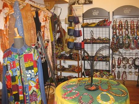 prodotti artigianali all'African creation