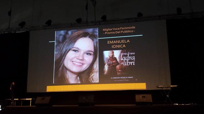 Premio a Emanuela Ionica, la Violetta di Disney Channel