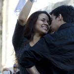 Le foto del flash mob di Marinera, danza tipica del Perù, a Roma