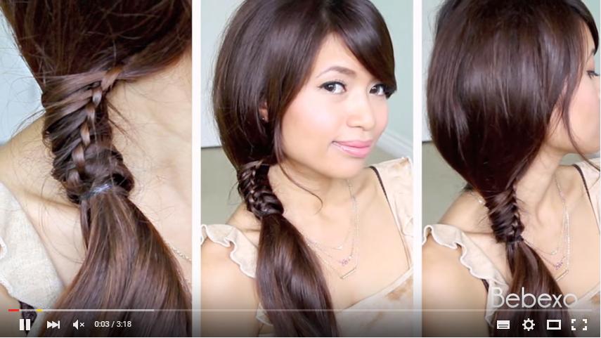 4 tutorial per i capelli a treccia