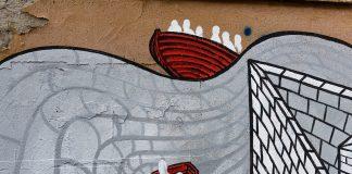 #EuropaSenzaMuri: Street art al Pigneto per i diritti dei rifugiati con Intersos
