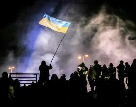 la rivolta della popolazione in Ucraina