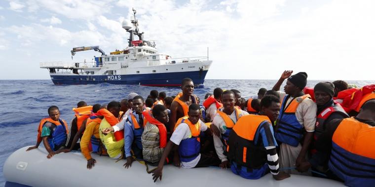 Migranti e Moas