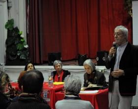 Venanzetti al dibattito sull'integrazione linguistica presso l'istituto in via Bixio