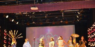 Sfilata delle concorrenti del Ginang Pilipinas