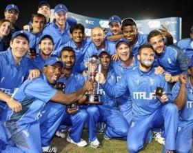 Gli_Azzurri_di_Cricket_Italia, campione d'Europa T2