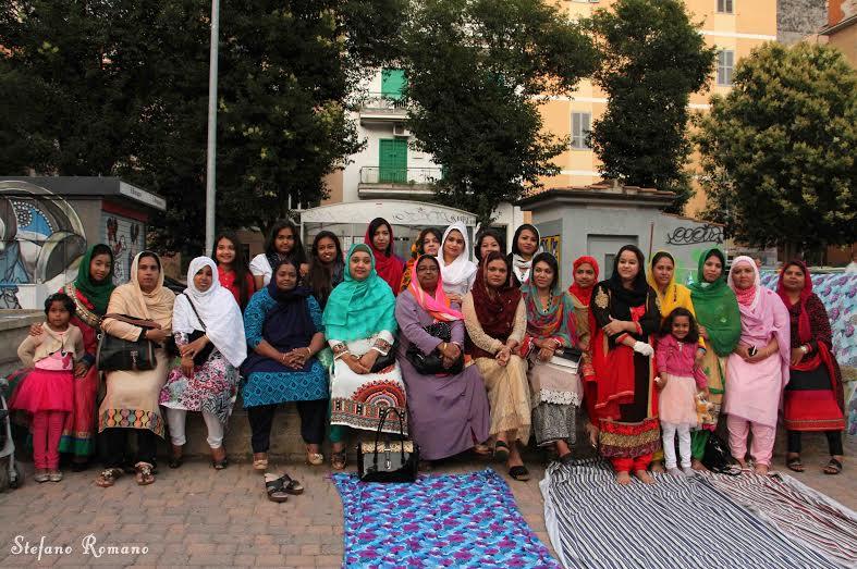 Iftar della comunità bangladese a Torpignattara