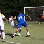al Mundialdio torneo di calcio per stranieri a Roma l'incontro tra Congo e Capo Verde