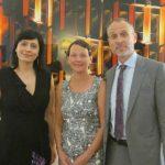 Raisa Ambros cu Ambasadorul Finlandei la Roma
