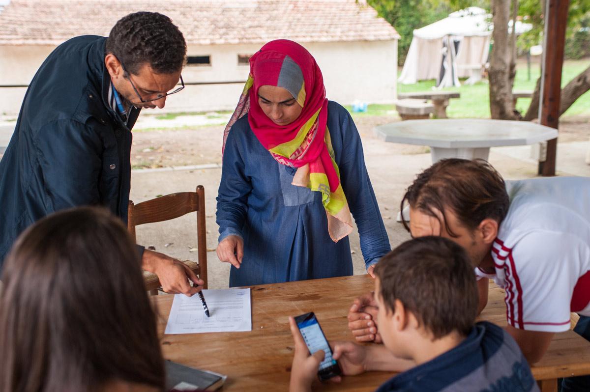 Casal Damian - rifugiati siriani