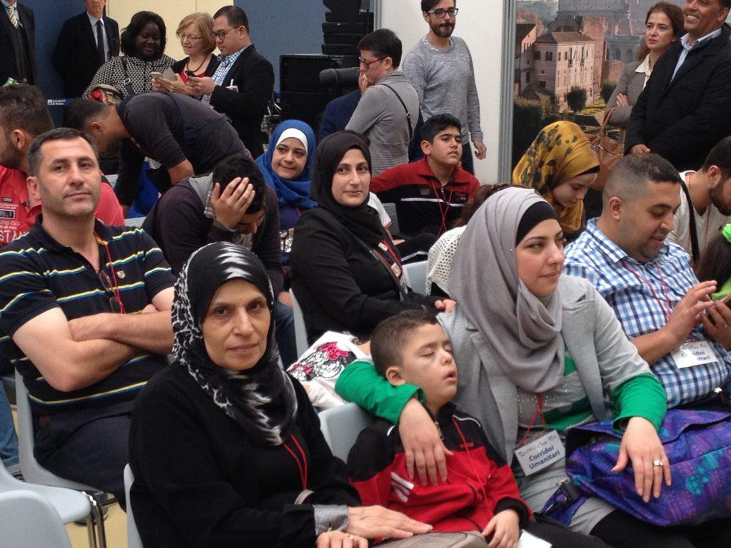 Jasmine è arrivata con la sua famiglia con i corridoi umanitari
