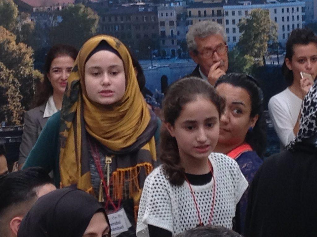 Marah arrivata con la mamma e 3 fratelli con i corridoi umanitari