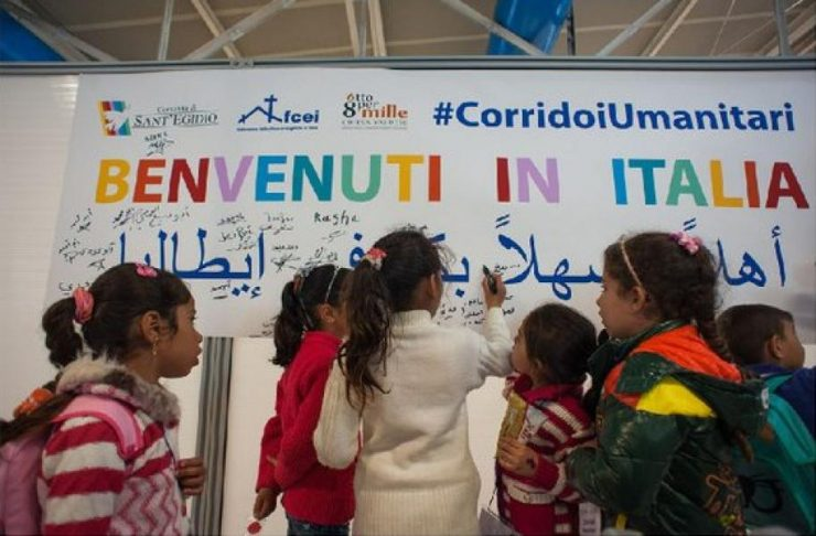 Corridoi Umanitari: l'arrivo a Roma