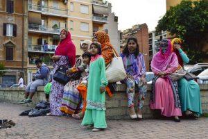 Donne Bangladesi Tor pignattara (foto Ilaria Moretti)