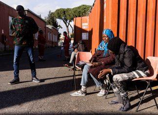 Scatti dal Centro di Accoglienza Tiburtino Terzo - Foto di Adamo Banelli