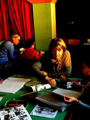 Volontarie Piuculture alla scuola Santa Maria Goretti di Roma