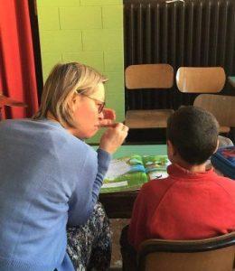 Sostegno ai bambini stranieri alla scuola Santa Maria Goretti di Roma