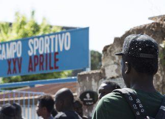 campo sportivo XXV aprile pietralata