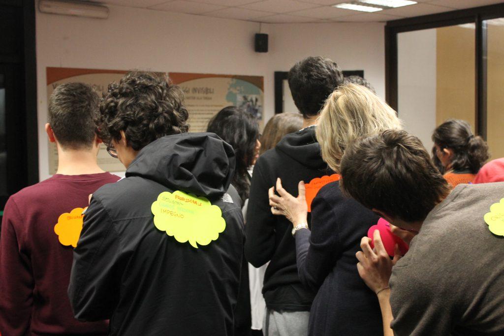 Infomigranti scuola: gioco delle nuvolette