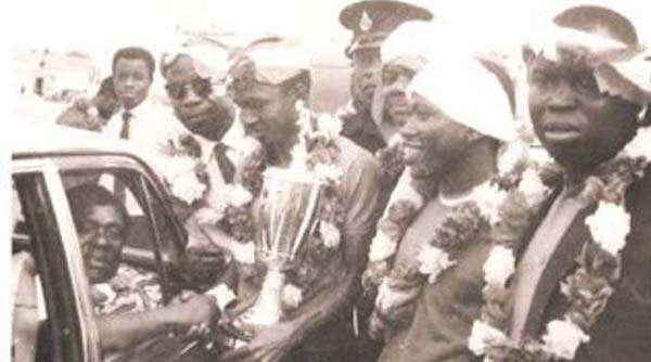 Robert Mensah coppa campioni d'Africa