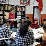 Allievi del corso per ragazzi della scuola Che Guevara