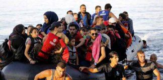 Migranti a Lesbo(foto OnuItalia)
