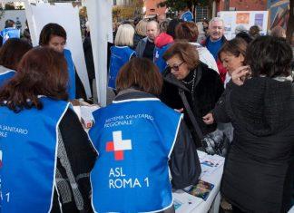 La ASL in piazza Bologna a Roma incontra i cittadini