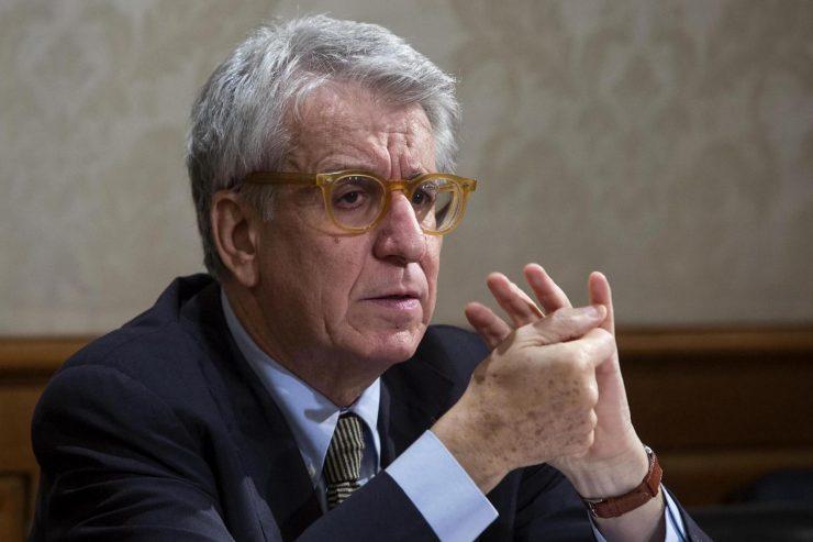 Il senatore Luigi Manconi (foto Roberto Monaldo /La Presse)
