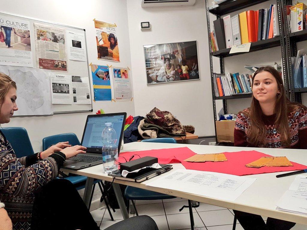 Infomigranti scuola - i colloqui