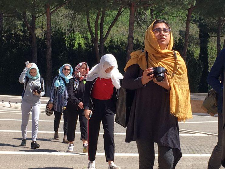 Uscita alla Grande Moschea per i liceali del laboratorio Infomigranti
