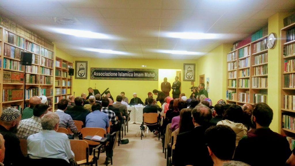 La sala conferenze del centro