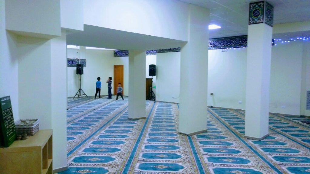 La nuova sala di preghiera