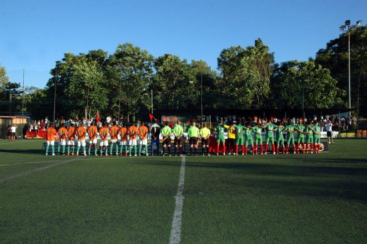 La due squadre si preparano alla finale (fonte: Sito Ufficiale Mundialido)