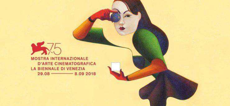 Logo 75 Mostra d'arte cinematografica di Venezia