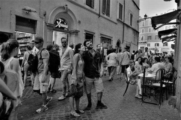 Le passeggiate di guide invisibili (Foto di Ginevra Sammartino©)