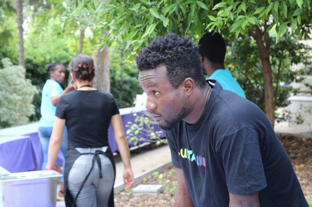 Kelvin In cammino catering migrante