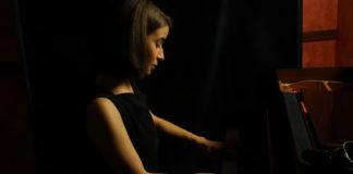 Pianista Mara Dobrescu la inaugurarea festivalului Propatria