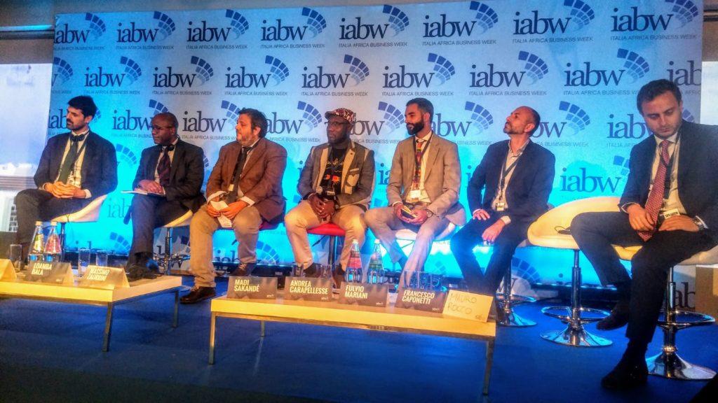 Gli ospiti in una delle conferenze IABW