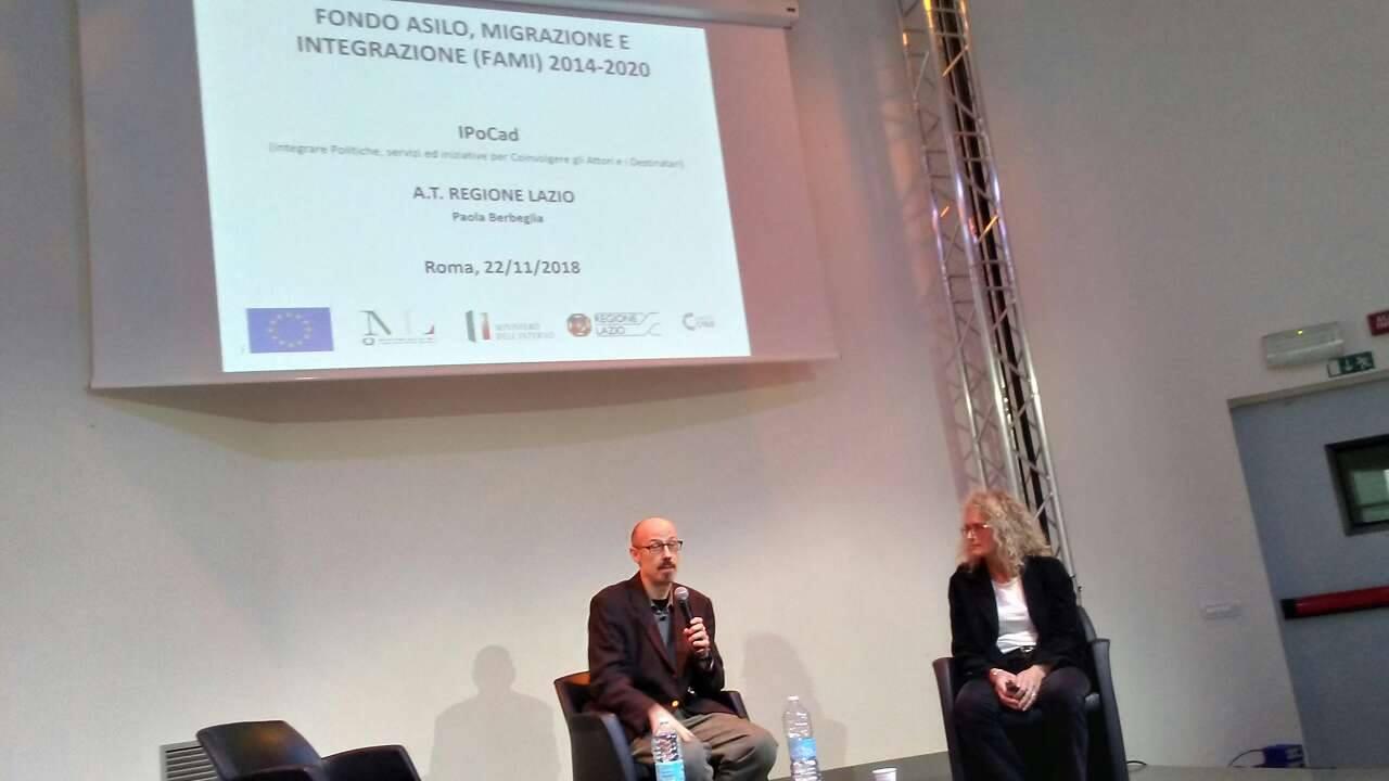 L'associazionismo immigrato nell'area metropolitana di Roma incontro del 23 novembre 2018