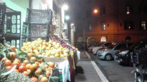 Un minimarket nel quartiere San Lorenzo