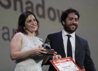 La regista Soudade Kaadan riceve il premio Luigi de Laurentiis a Venezia per il film The day i lost my shadow, il film inaugura il MedFilFest(foto cinematik)