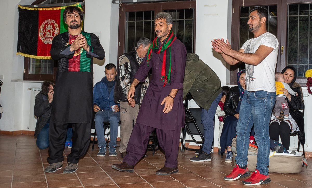 Comunità afghana tor piganattara roma - foto di Stefano Majolatesi