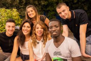 Gassama e i suoi amici italiani