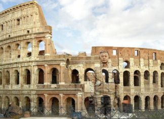Liu Bolin Colosseo