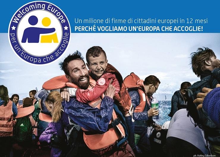 Manifesto Campagna Welcoming Europe. Per un'Europa che accoglie