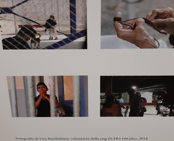 Foto di L. Barthélémy dalla mostra Leros, l'isola degli invisibili