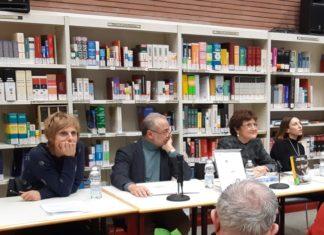 Incontro Piuculture - da sn: C. Peri, A. D'Elia, A. Ghisani, S. Vinci