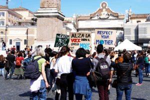Fridays for Future manifestanti- Giada Stallone