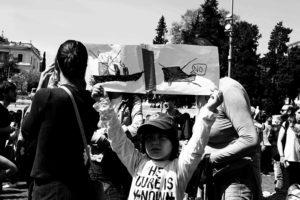 Fridays for Future, manifestante - Giada Stallone